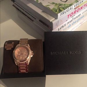 Michael Kors Mini Blair Rose Gold Watch